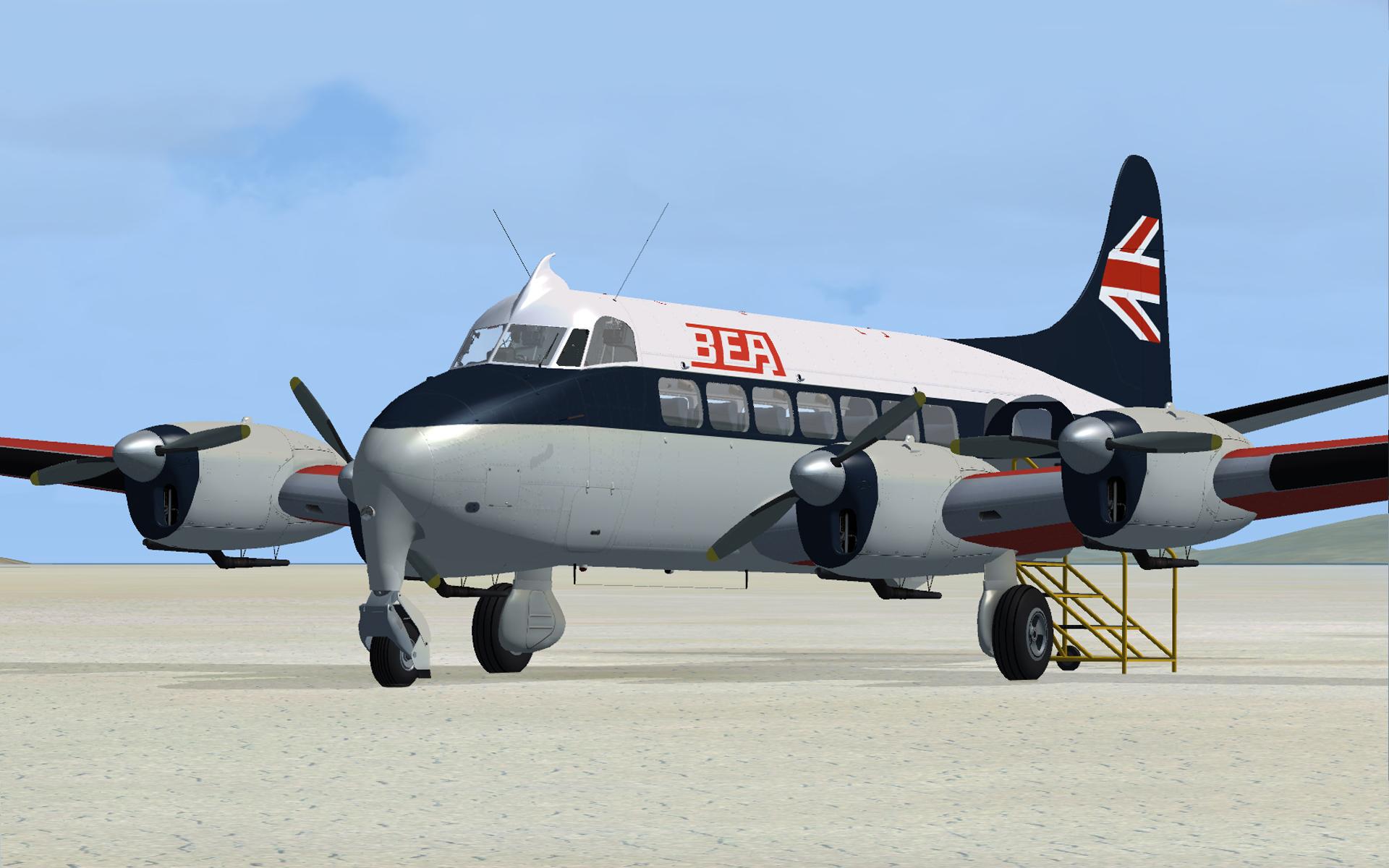 flight replicas dh114 heron