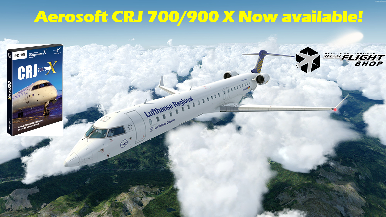 Aerosoft CRJ are finally here!