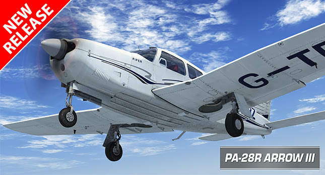 PA-28R Arrow III for FSX & P3D - on sale now!
