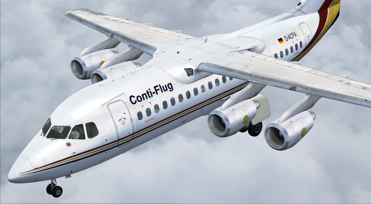Just Flight 146-200/300 JETLINER LIVERY & FMC EXPANSION PACK