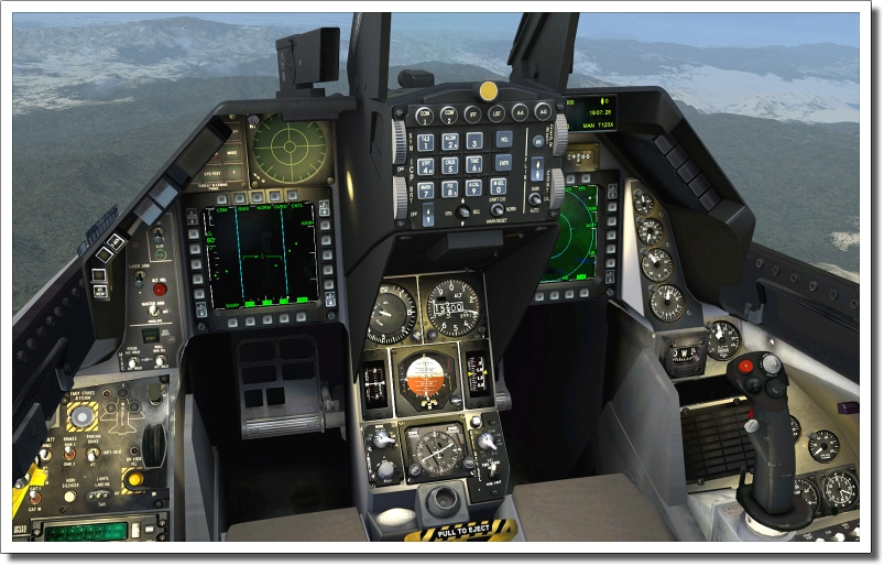 Download images about Six F16 Fighting Falcon aircraft fly
