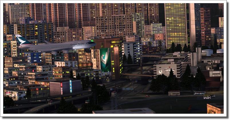 Hong Kong City & Kai Tak Airport Box
