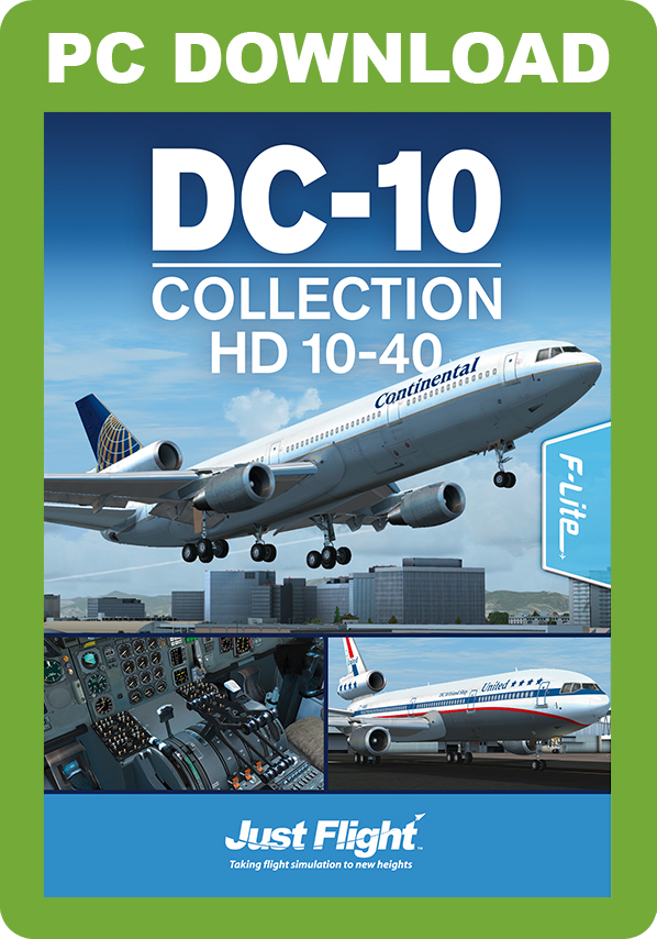 Just Flight DC-10 Collection HD 10-40