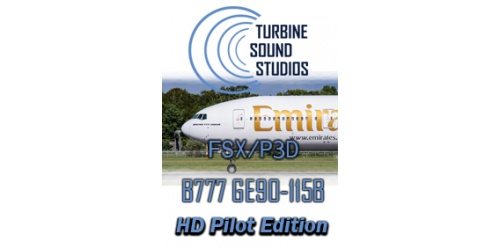 TSS Boeing 777 GE-90-115B Pilot Edition soundpackage for FSX / P3D