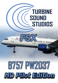 Turbine Sound Studios Boeing 757 PW2037 Pilot Edition soundpackage for FSX  / P3D